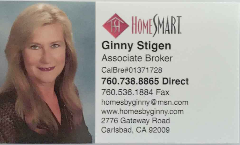 BUSINESS CARD GINNY STIGEN