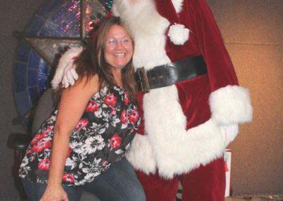Christmas 2016 Mom and Santa