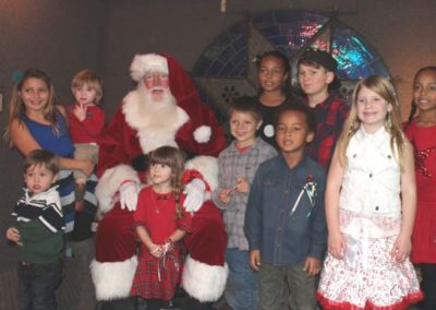 Christmas 2016 kids & santa