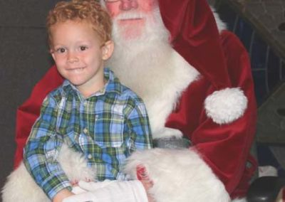 Christmas 2016 kids & santa 1