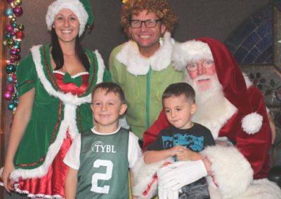 Christmas 2016 kids & santa w elf